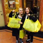 Mother Daughter Fun From Argentina on Thier NYC Shopping Tour