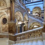 Beautiful marble in City Chambers