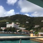 The Ferry Terminal and the Hospital of Tortola