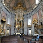 La nef de l'église dos Clérigos