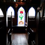 A little churchgoing atmosphere