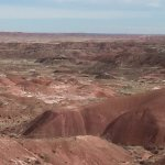 This photo of the Painted Desert in AZ doesn't do it justice.