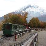 Train in Parque Nacional Tierra de Fuego