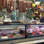 Cure meat section