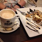 Aunty Brid's desert and coffee