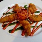 The chicken pakora starter