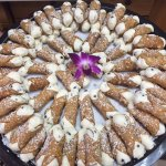 Don't forget the cannoli - always a popular dessert or special treat!