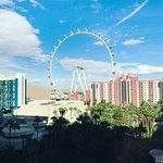 View from the High Roller room