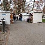 Park and fair before Christmas