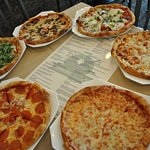 Great Selection of pizzas