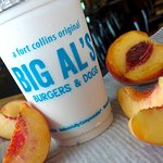 Peach Shake (previous Special at Big Al's)