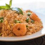 Shrimp Chaufa