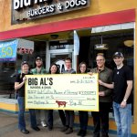 All of Big Al's tips go to local charities
