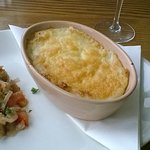 A delicious Fish Pie - So comforting on such a cold day!