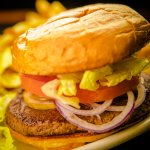All natural hand pressed burgers at Kings Chef diner