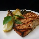 Grilled Marinated Salmon