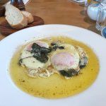 Sage fried eggs