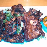 1 Pound of Roustabout's Rib-Tips with Carolina BBQ Sauce