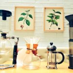 Different pour over methods.