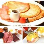 Fancy breakfast yum yum.