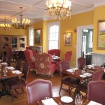 Main dining room at an angle