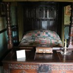 Historic four-poster bed & chest, Hill Top Farm