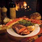 Crab Legs and Steak