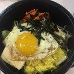 Vegetarian Bibimbap, delicious