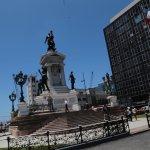 Otro ángulo del monumento