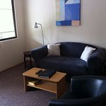 Executive Rooms have a lounge/dining area separate from the bedroom