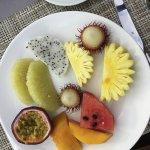 my breakfast fruits