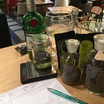 Gin and Tonic Perfumes in process.