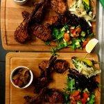 Tender lamb chops