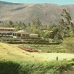 Beautiful place to lunch. Tunupa Valle Sagrado de los Incas
