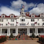 The front of the Stanley Hotel