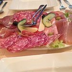 1970`s salami, lettuce, pinched cucumber and Italian cheese, (can you spot it?)