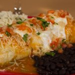 Verde Smothered Burrito