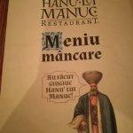 Foto de Restaurant Hanu' lui Manuc