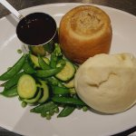Award winning pies and suet puddings served