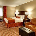Our King Suite is perfect for corporate travel or the couple just wanting to get away!