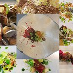 Selection of Dinner Menu Dishes