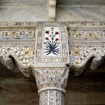 intricate details in the palace