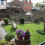 Garden, Wordsworth's childhood home, Cockermouth