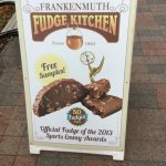 Frankenmuth Fudge Kitchen (sign).