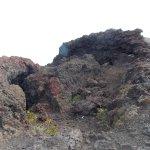 Restos de erupciones volcanicas