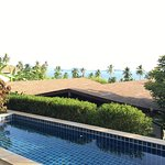 We had a 2-bedroom villa with a private pool. We were in Villa 61. We loved it! Great sea view!