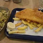Fish&Chips + Courgette Fries