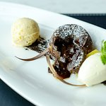 Chocolate & salty caramel Fondant
