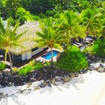 Beachfront Villas with private pool and beach