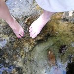 Yes, we dipped our toes in the same bath where George Washington did in 1748!!! How incredibly c